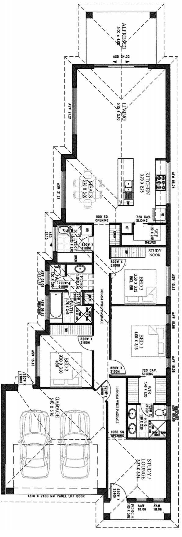 Queensborough Floor Plan