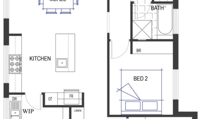 Benham Floor Plan